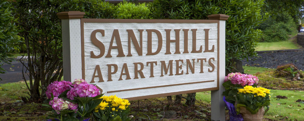 Sandhill Apartments in Seaside, Oregon